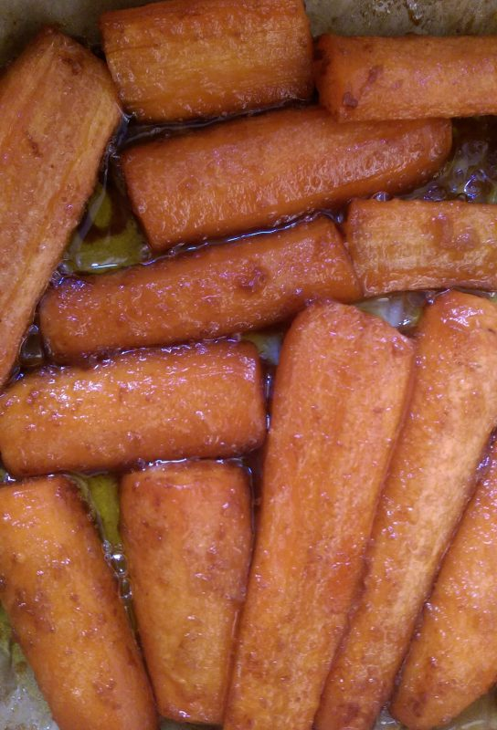 Pečená mrkev
