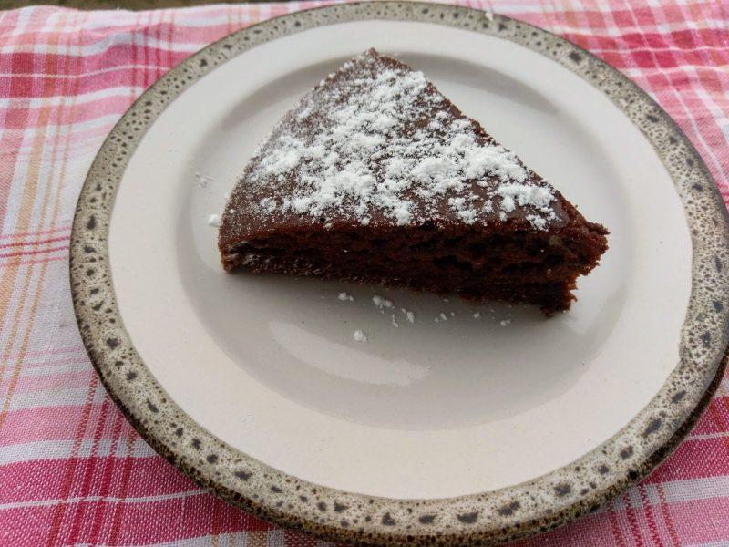 Italský čokoládový koláč