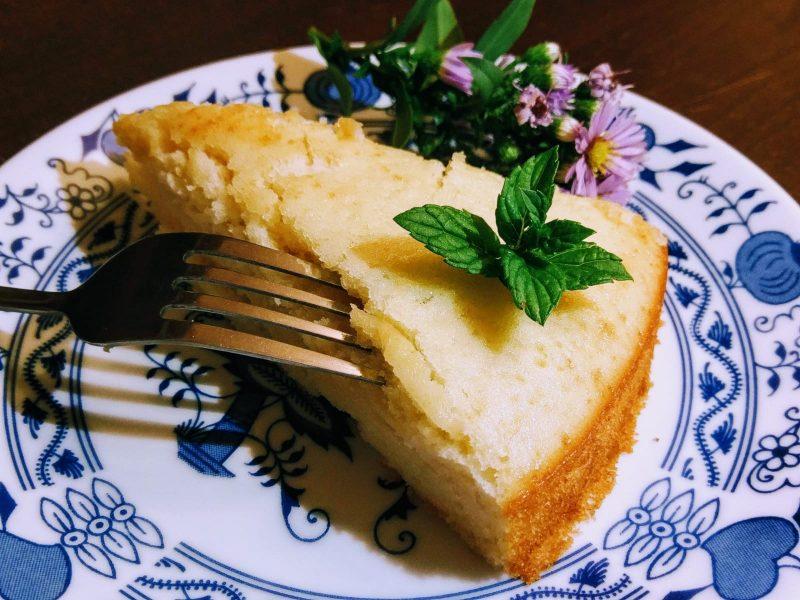 Italský svěží koláč s pomerančem