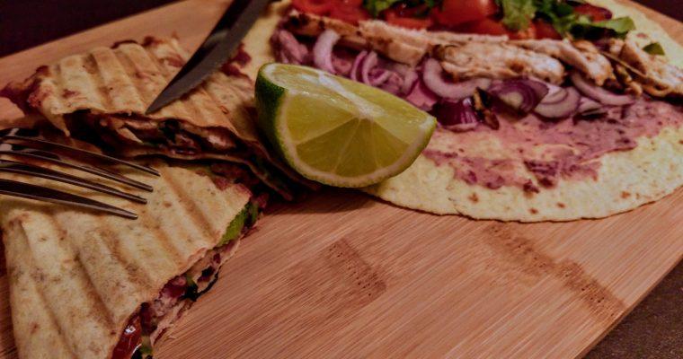Zapečená mexická tortilla