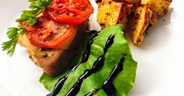 Tuňákový steak