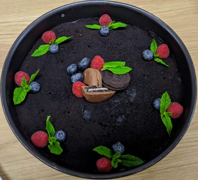 Oreo-čoko dort