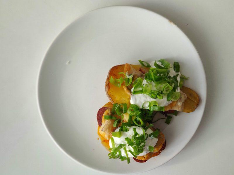 Rozšlápnutá brambora
